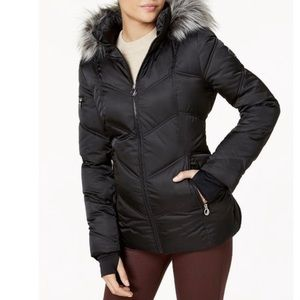 Náutica quilted puffer coat
